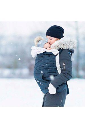 зимно покривало за бебеносене
